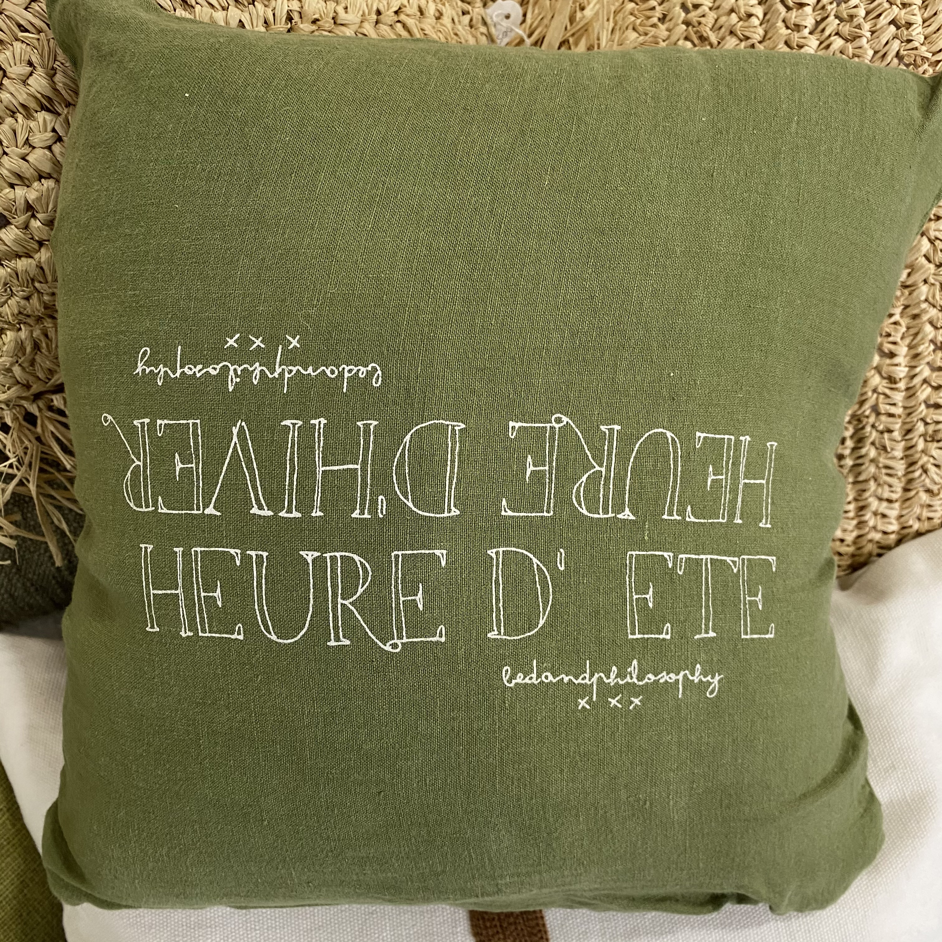 Coussin molly (35x35) jungle